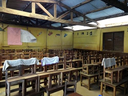 Kindergarten classroom in Apowa (Takoradi)