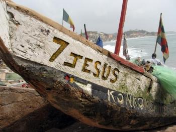 Ghana, Jesus boat